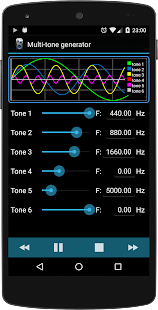Professional Tone Generator- screenshot thumbnail