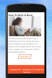How To Write A Book - náhled