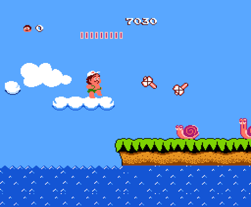 Adventure Island - screenshot