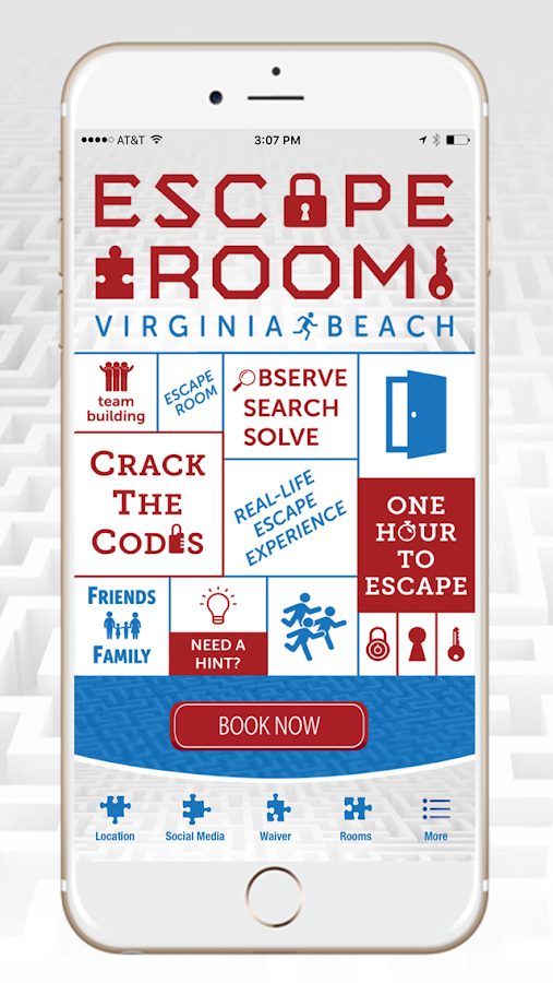 Escape Room Virginia Beach- screenshot