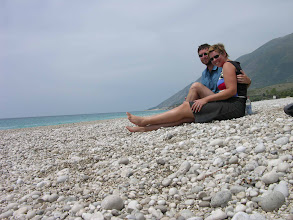 Photo: Our private beach