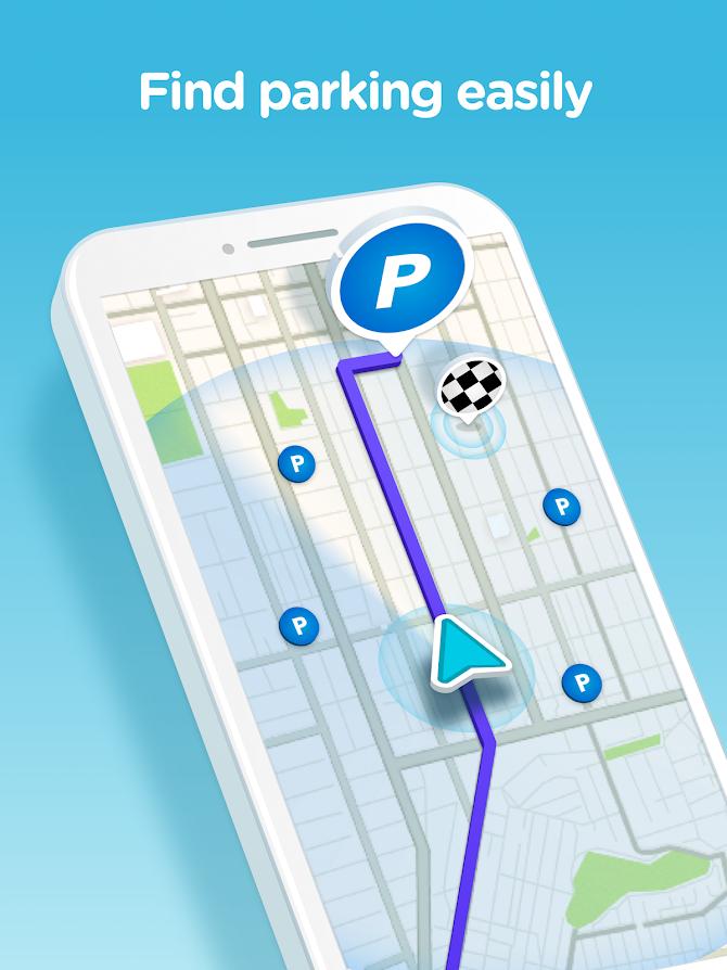 Waze - GPS, Maps, Traffic Alerts & Live Navigation Android 9