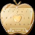 Crystal Gold Keyboard Keyboard Theme icon
