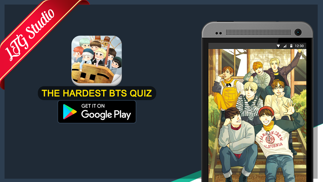 Google themes kpop - The Hardest Bts Kpop Quiz Screenshot