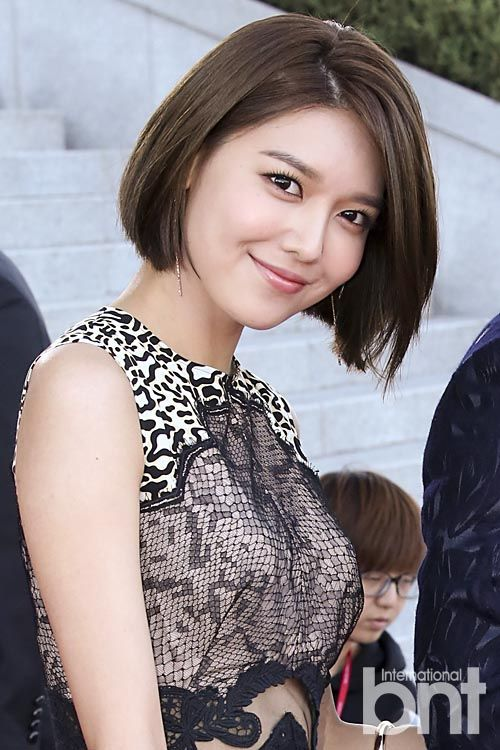 short long hair 35