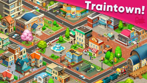 Train town - 3 match merge puzzle games screenshots 5
