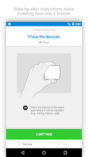 Swirl Beacon Manager - náhled
