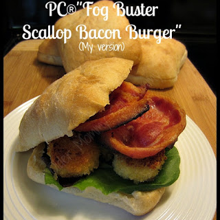Fog Buster Scallop Bacon Burger