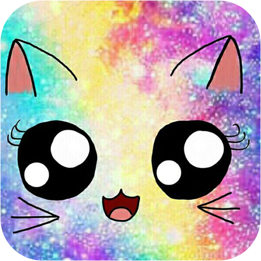Galaxy Cute Kitty Sparkle Theme 1.1.2