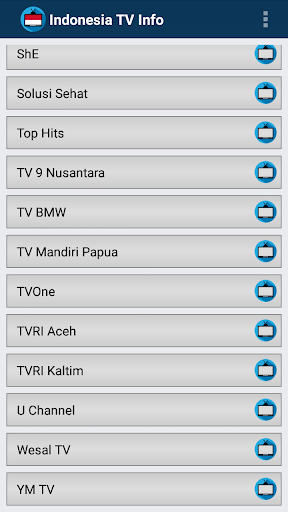 玩免費娛樂APP|下載TV Indonesia Online Info Chann app不用錢|硬是要APP