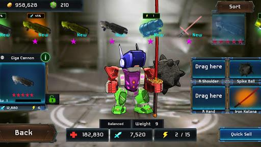 MegaBots Battle Arena: Build Fighter Robot filehippodl screenshot 1