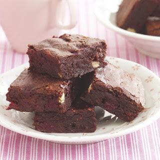 Double Chocolate Raspberry Brownie