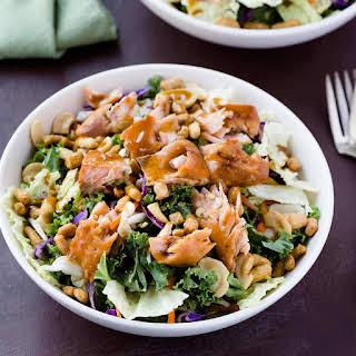 Sesame Ginger Salmon Salad.