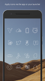Lines - Icon Pack (Free Version)- screenshot thumbnail