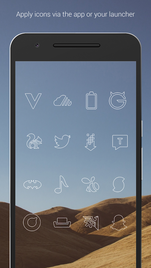 Lines - Icon Pack (Free Version)- screenshot