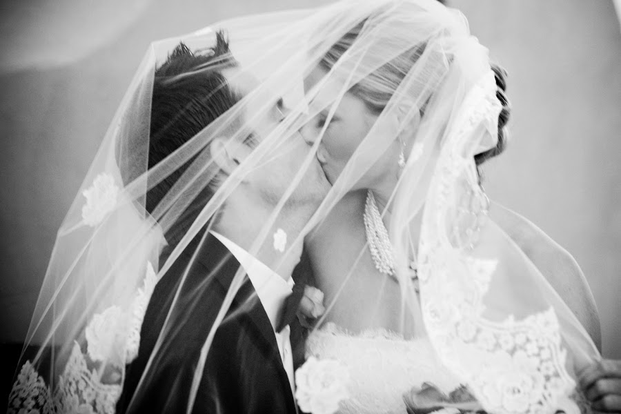 by Robin  Parrott - Wedding Bride & Groom