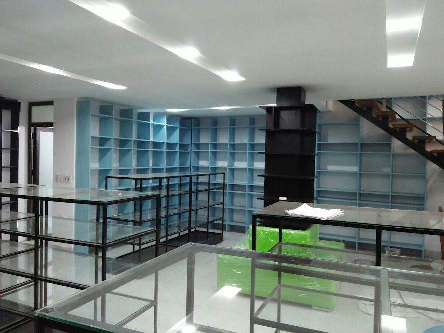 thiết kế nhà sách 150m2
