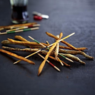 Olive and Paprika Breadsticks