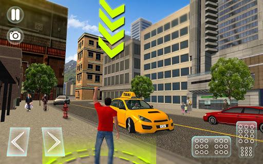 City Taxi Driver sim 2016: Cab simulator Game-s 1.9 screenshots 13