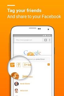 Peanut- Fun Social Web Browser - náhled