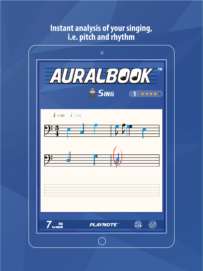 AURALBOOK for ABRSM Grade 7- screenshot