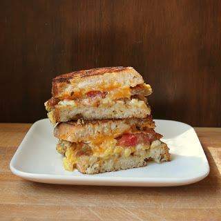 Pumped-up Grilled Cheese