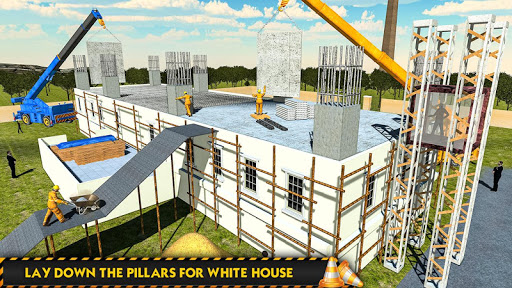 White House Building Construction Games City Build 1.0.4 screenshots 3