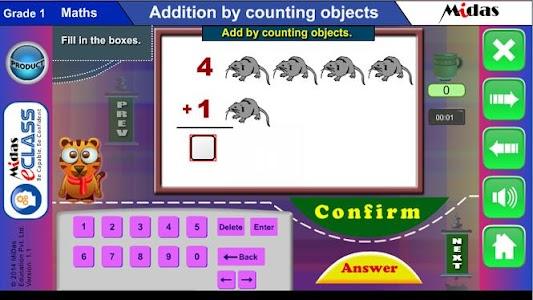 MiDas eCLASS Maths 1 Demo screenshot 5