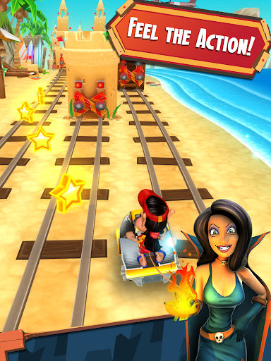 Hugo Troll Race 2: The Daring Rail Rush screenshots 8