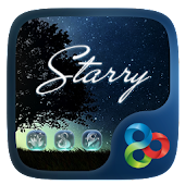 Starry GO Launcher Theme