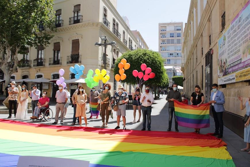 Acto del Día del Orgullo.