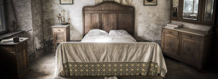 Old bed