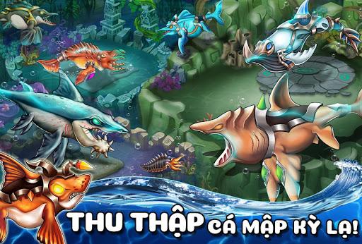 Thu thập các loài cá kì lạ trong Sea Monster City mod