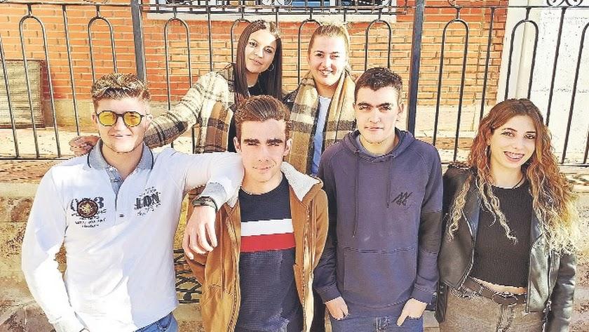 MGR Tech es el nombre del proyecto empresarial creado por estos seis jóvenes emprendedores albojenses.