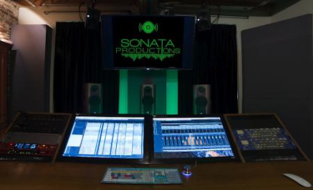 Nieuwe studio voor Sonata Productions