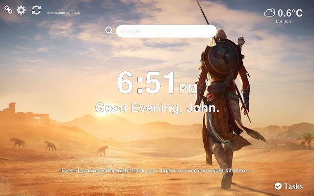 Assassin's Creed Origins Wallpapers Tab