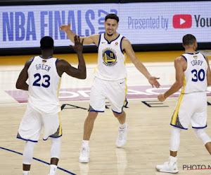 Durant et Curry ont sauvé les Warriors