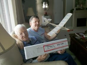 Photo: Scott & Bill with SIG model