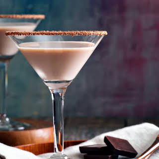 Chocolate Martini.