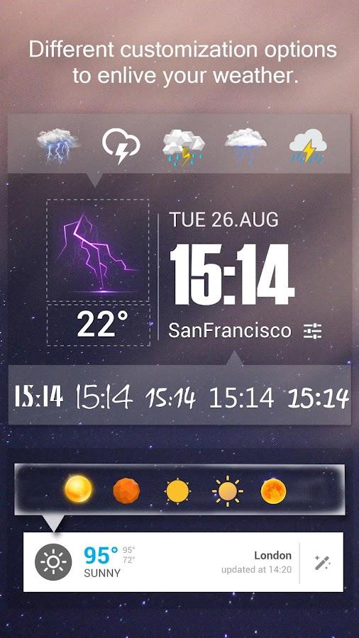 Amber Weather- screenshot