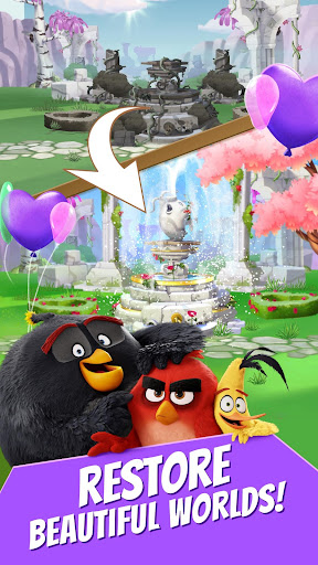 Angry Birds Match screenshot 5