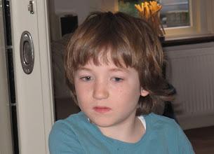 Photo: Maart 2011 Casper wordt 8