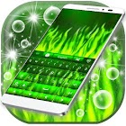 Green Flame Keyboard icon