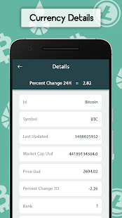 Bitcoin - Exchange Live Rates & currency converter- screenshot thumbnail