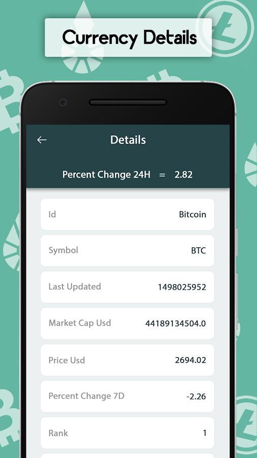 Bitcoin - Exchange Live Rates & currency converter- screenshot