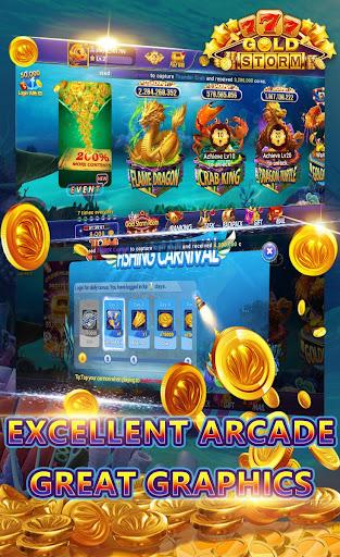 Gold Storm Casino - Asian Fishing Arcade Carnival 1.0.39 screenshots 1