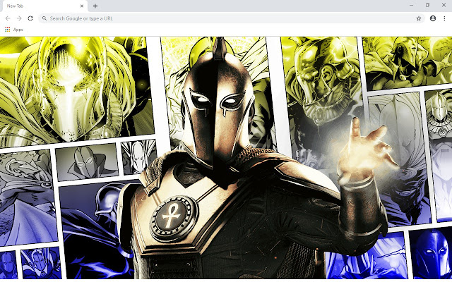 Doctor Fate New Tab Wallpapers Collection