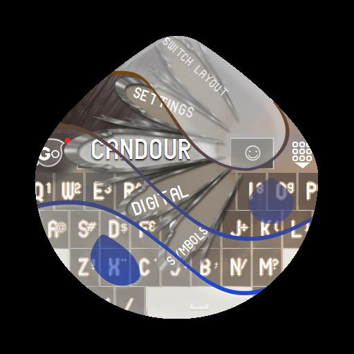 个人化のCandourcandour GO Keyboard LOGO-記事Game