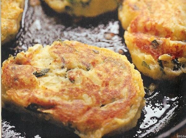 Colcannon Cakes Recipe