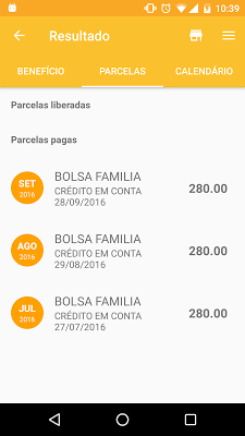 Consulta Bolsa Família - screenshot